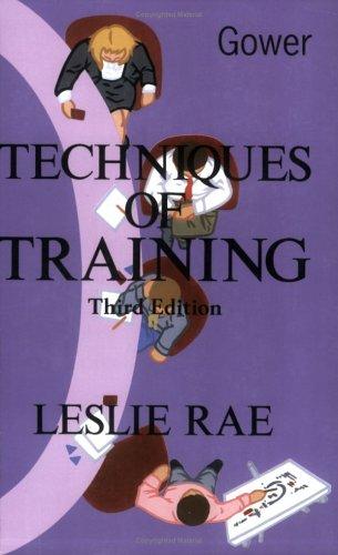 9780566076299: Techniques of Training