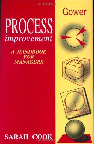 9780566076336: Process Improvement: A Handbook for Managers