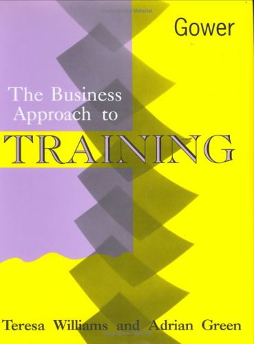 Business Approach To Training (Hb)