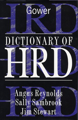 Dictionary of HRD: Stewart, Jim, Sambrook,
