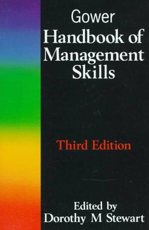 9780566078897: Gower Handbook of Management Skills