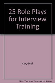 9780566079030: 25 Role Plays for Interview Training