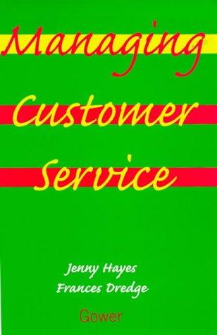 9780566080050: Managing Customer Service