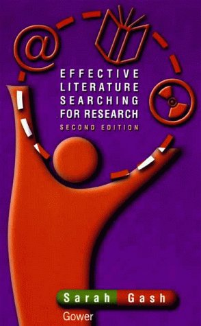 9780566081255: Effective Literature Searching for Research