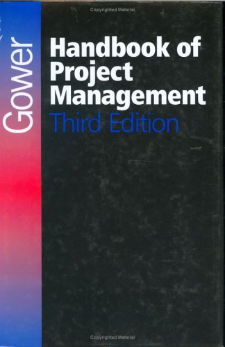 9780566081385: Gower Handbook of Project Management