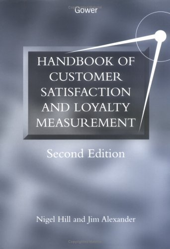 9780566081941: Handbook of Customer Satisfaction and Loyalty Measurement