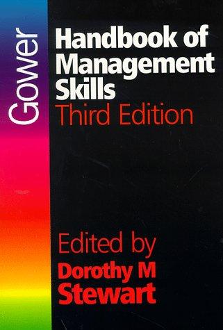 9780566082634: Gower Handbook of Management Skills