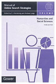 9780566083051: 003: Manual of Online Search Strategies: Humanities and Social Sciences