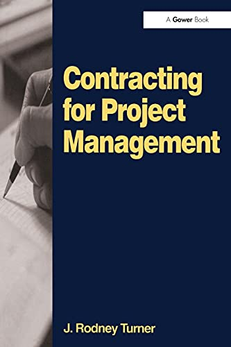 9780566085291: Contracting for Project Management