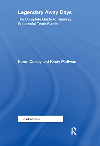 Legendary Away Days: The Complete Guide to: Cooley, Karen, McEwan,