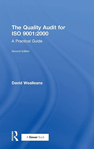 9780566085987: The Quality Audit for ISO 9001:2000: A Practical Guide