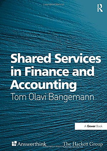 9780566086076: Shared Services in Finance and Accounting