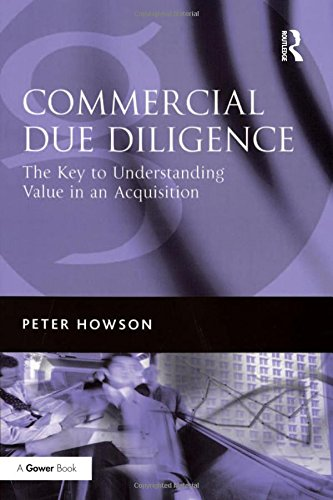 9780566086519: Commercial Due Diligence: The Key to Understanding Value in an Acquisition