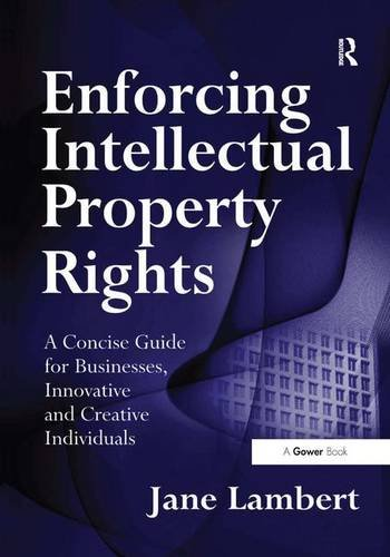 9780566087141: Enforcing Intellectual Property Rights: A Concise Guide for Businesses, Innovative and Creative Individuals