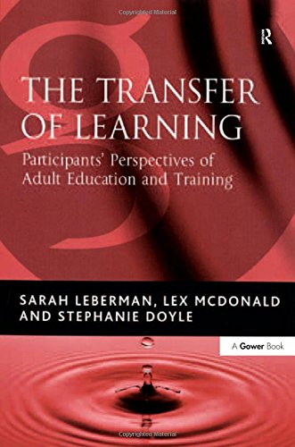 9780566087349: The Transfer of Learning: Participants' Perspectives of Adult Education and Training
