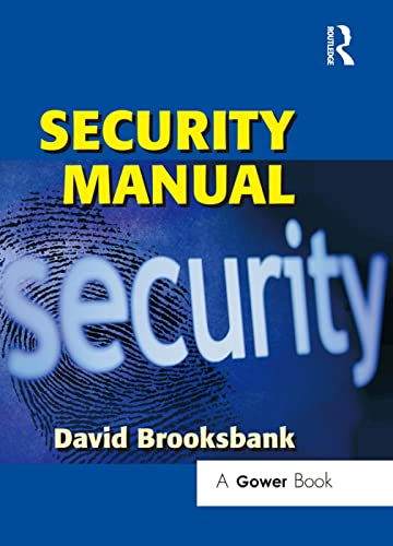 9780566087837: Security Manual