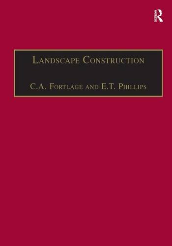 9780566090424: Landscape Construction: Roads, Pavings and Drainage v. 2