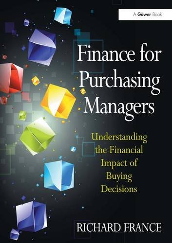 9780566091711: Finance for Purchasing Managers. Richard France