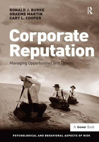 Corporate Reputation : Managing Threats and Opportunities: Burke, Ronald J.