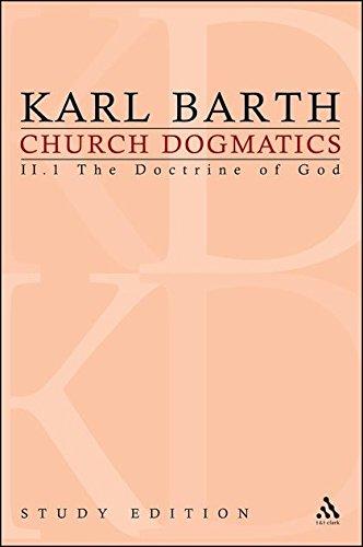 9780567012852: Church Dogmatics, Vol. 2.1, Section 31: The Doctrine of God, Study Edition 9