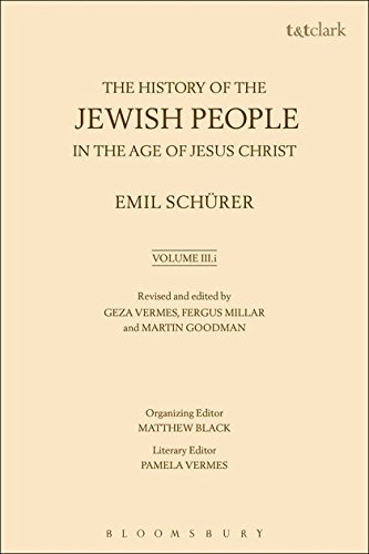 The History of the Jewish People in: Schurer, Emil