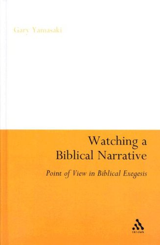 9780567026958: Watching a Biblical Narrative: Point of View in Biblical Exegesis