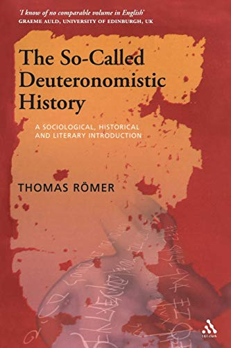 9780567032126: So-called Deuteronomistic History: A Sociological, Historical and Literary Introduction