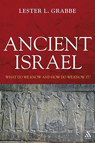 9780567032546: Ancient Israel: What Do We Know and How Do We Know It? (T&t Clark)
