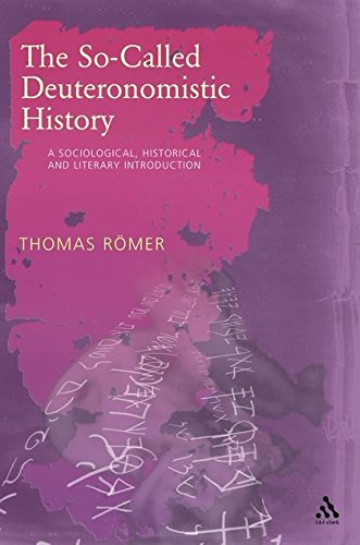 9780567040220: The So-called Deuteronomistic History: A Sociological, Historical and Literary Introduction