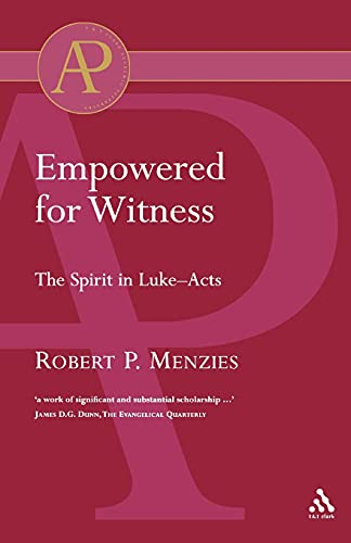 9780567041906: Empowered for Witness (Academic Paperback)