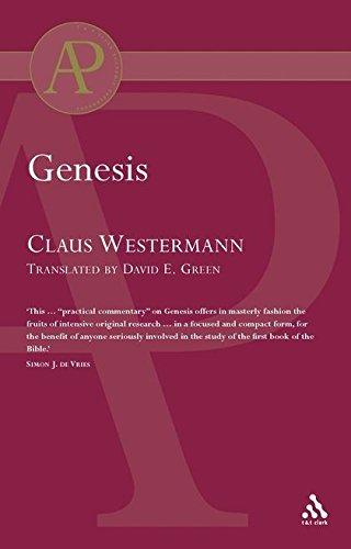 Genesis (Westermann) (Academic Paperback): Westermann, Claus
