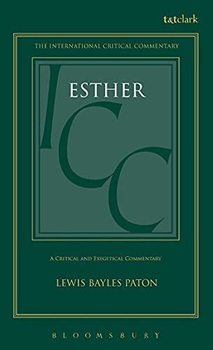 9780567050090: Esther (International Critical Commentary)
