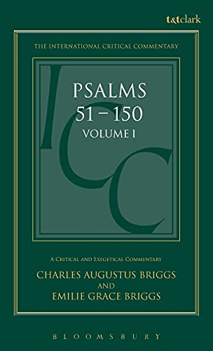9780567050113: Psalms: Volume 1: 1-50 (International Critical Commentary)