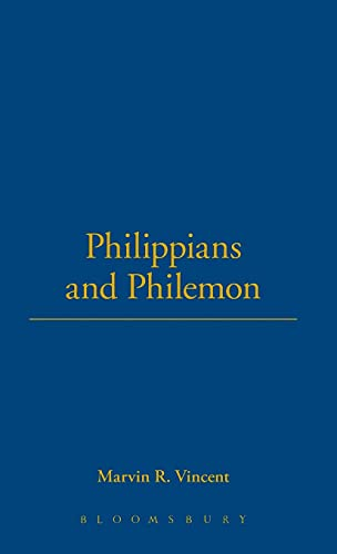 9780567050311: Philippians and Philemon (International Critical Commentary)