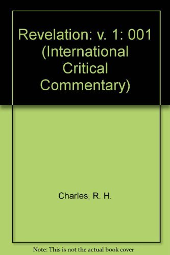 9780567050380: A Critical and Exegetical Commentary on The Revelation of St. John in Two Volumes