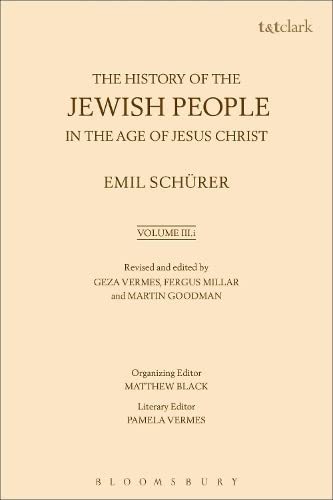 9780567070241: The History of the Jewish People in the Age of Jesus Christ: Volume 3.i
