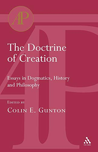 9780567080790: Doctrine of Creation (Academic Paperback)