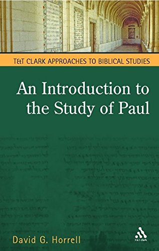 9780567081896: Introduction to the Study of Paul (T & T Clark Approaches to Biblical Studies)