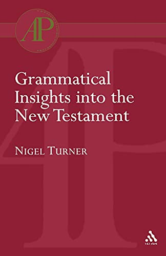 9780567081988: Grammatical Insights into the New Testament (Bloomsbury Academic Collections: Biblical Studies)
