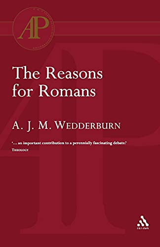 9780567082084: The Reasons for Romans (Academic Paperback)