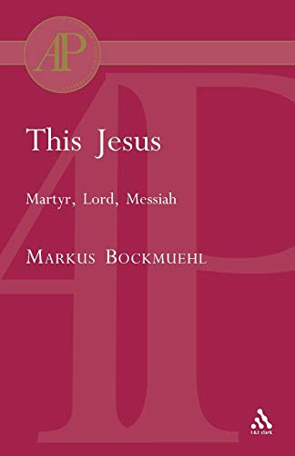 9780567082961: This Jesus (Academic Paperback)