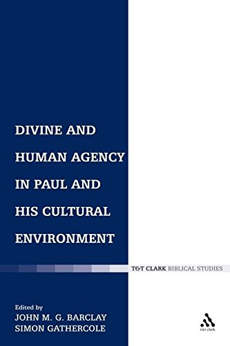 9780567084538: Divine and Human Agency in Paul and his Cultural Environment (The Library of New Testament Studies)