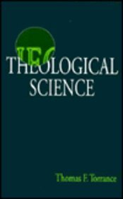 9780567085146: Theological Science