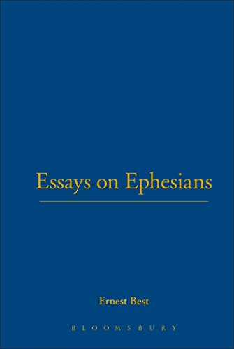 9780567085665: Essays on Ephesians (International Critical Commentary)