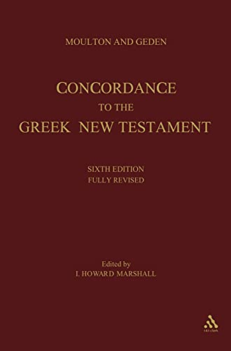 9780567085719: Moulton and Geden: Concordance to the Greek New Testament