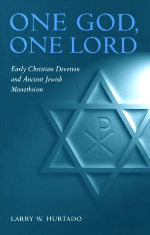 9780567086570: One God, One Lord: Early Christian Devotion and Ancient Jewish Monotheism