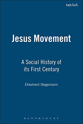 9780567086884: Jesus Movement: A Social History Of Its First Century