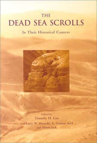 9780567087072: The Dead Sea Scrolls in Their Historical Context
