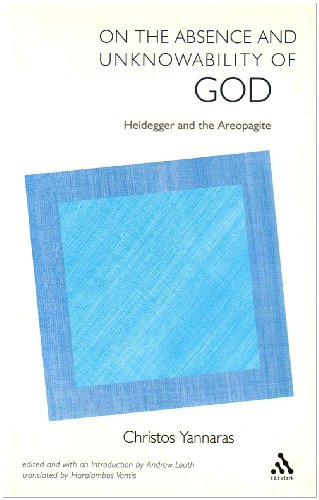 9780567088062: On the Absence and Unknowability of God: Heidegger and the Areopagite