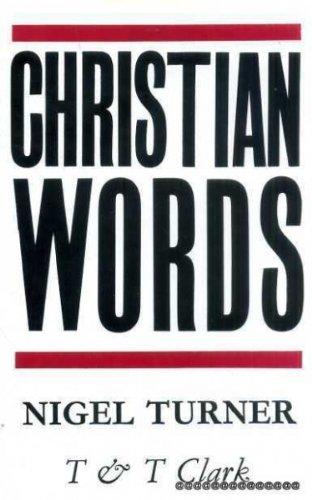 9780567093011: Christian Words